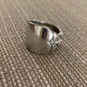 Jewelry - Vintage Spoon Ring Silver